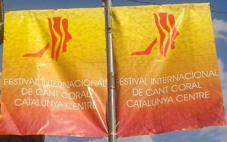 Tot a punt per al Festival internacional cant coral Catalunya centre a Castellbell i el Vilar