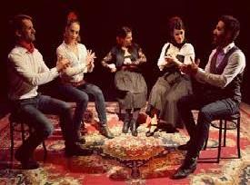 """El centre d´amistat assisteix a la representació """" le llaman Copla """" al Kursaal de Manresa"""