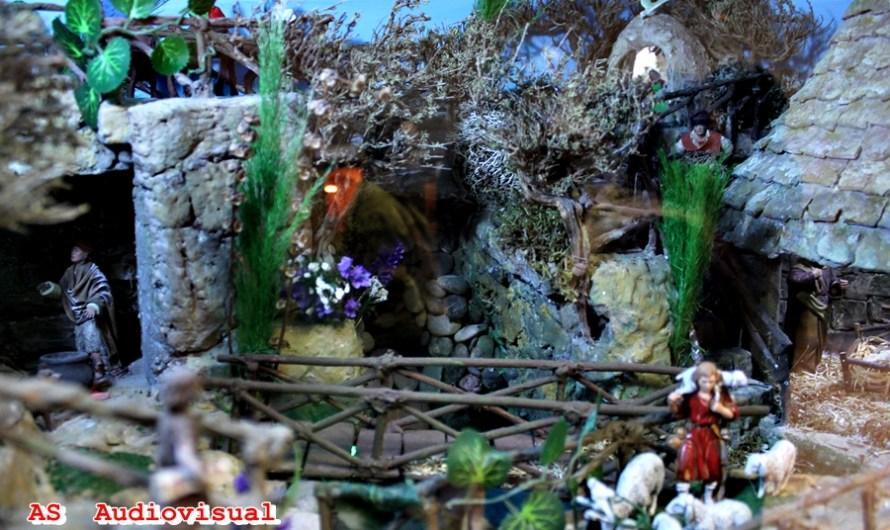 Un any més el món del pessebrisme en una exposició de diorames a Castellbell i el Vilar