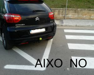 No estacionar en pas de vianats 1