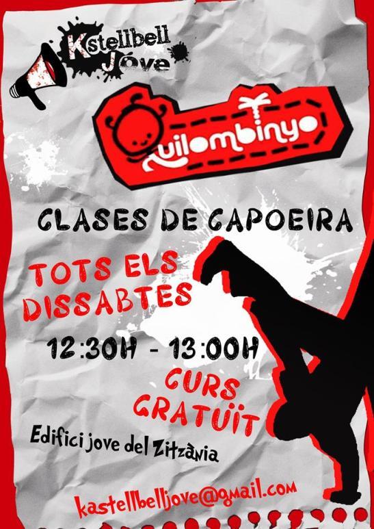 Cartell Horari Capoeira