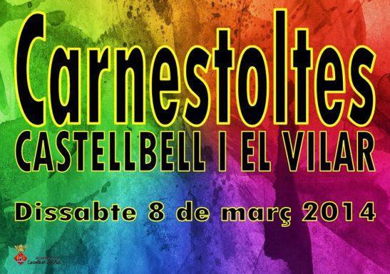 cartell promocional  Carnestoltes 2014