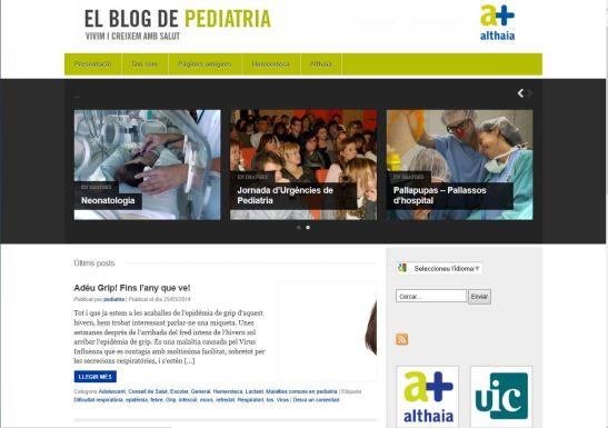 Captura Blog Pediatria