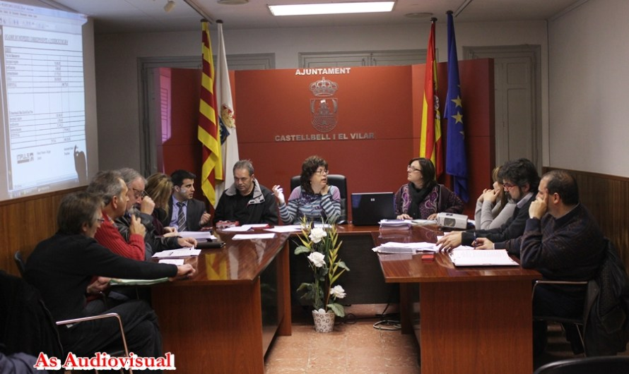 L´Ajuntament de Castellbell i el Vilar aprova una moció conjunta  pels contenciosos judicials amb SAGUECOM SA