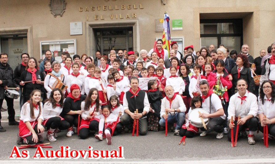El temps respecta les tradicions de La Pasqua a Castellbell i el Vilar