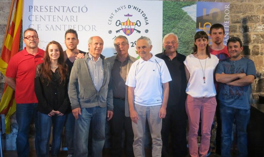 El CF Santpedor celebra els 100 anys amb un programa d'actes que s'allargarà durant tot un any