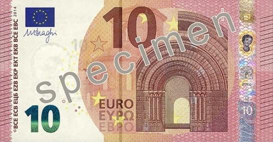 Bitllet 10 €