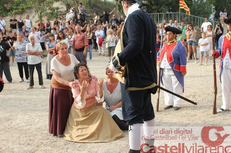 Castellbell I el Vilar viu el caliu dels Resistents .