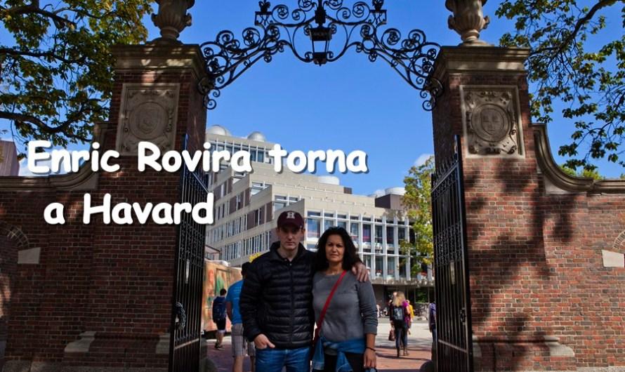 Enric Rovira torna a Harvard