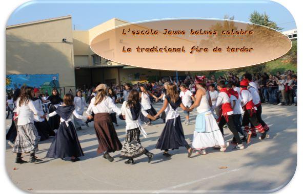 L'escola Jaume balmes celebra la tradicional fira de tardor.