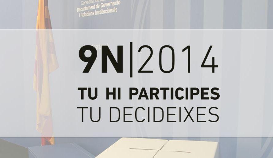 La Catalunya central disposarà el nou 9-N de : 189 locals i 459 meses electorals