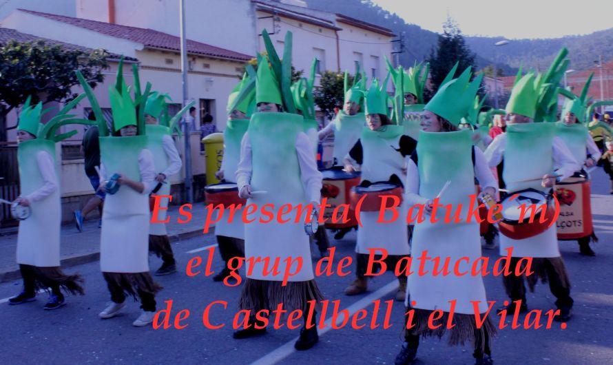Es presenta (Batuke'm) , el grup de Batucada de Castellbell i el Vilar.