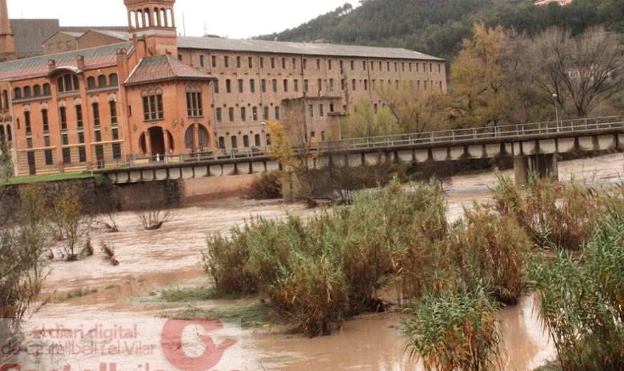 Castellbell i el Vilar demana ajuda a l'Agència Catalana de l'Aigua per netejar la llera del riu Llobregat al seu pas pel barri de la Bauma