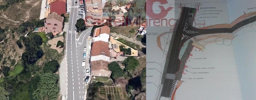 Comencen obres de millora d'interseccions a Castellbell i el Vilar