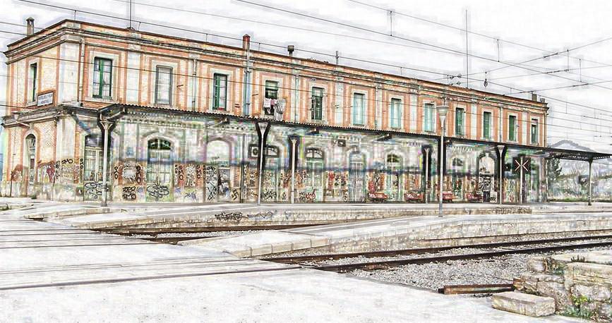 Obres de millora a l'estació de la renfe de Castellbell i el Vilar