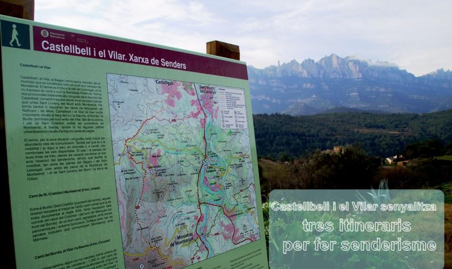 Castellbell i el Vilar senyalitza tres itineraris per fer senderisme