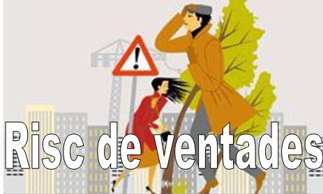 Protecció Civil activa el pla PROCICAT pel risc de fortes ventades a partir de dijous tarda -nit