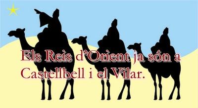 Els Reis d'Orient ja són a Castellbell i el Vilar.