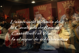 L'associació d'Amics de la Cavalcada de Reis de Castellbell i el Vilar, fa el sopar de col·laboradors