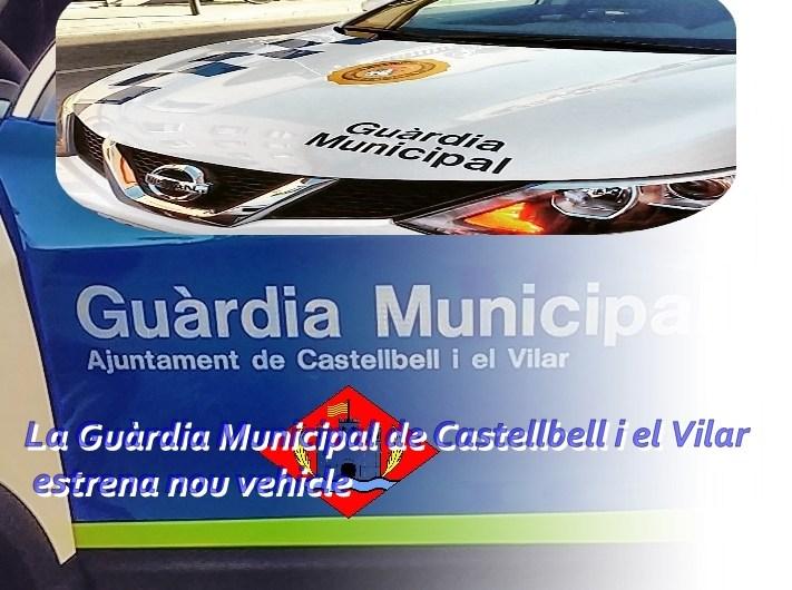 La Guàrdia Municipal de Castellbell i el Vilar, estrena nou vehicle.