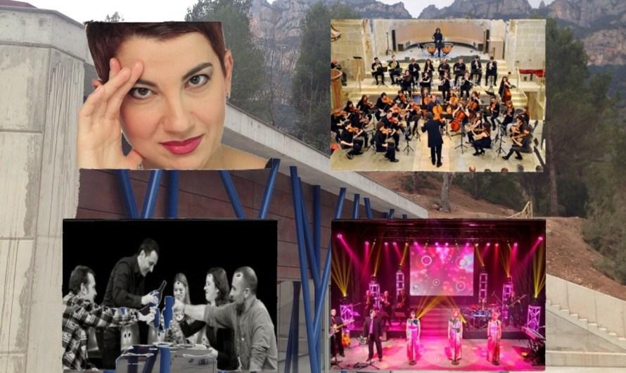 L´actriu Lloll Beltran obre aquest diumenge un cicle d´activitats culturals gratuites a Monistrol de Montserrat