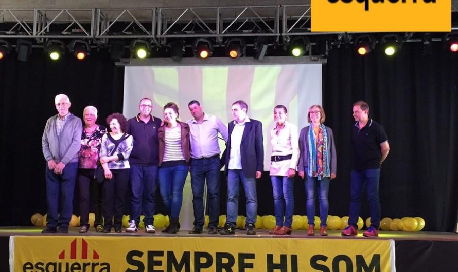 ERC de Monistrol de Montserrat presenta la seva candidatura
