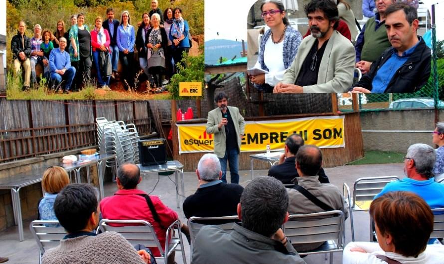 Esquerra Republicana de Catalunya-Acord Municipal de Castelbell i el Vilar, presenta la seva candidatura i part del programa electoral de les municipals.