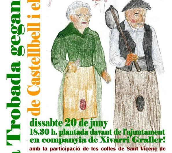 Aquest cap de setmana torna la Fal·lera gegantera a Castellbell i el Vilar.