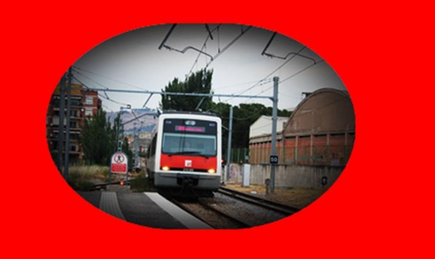 Incidència per una averia elèctrica a la línia R-5 dels Ferrocarrils de la Generalitat  .