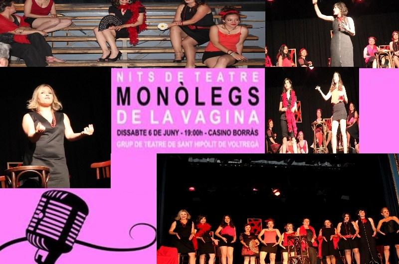 Èxit a la tarda de teatre, amb « Monolegs de la Vagina« a Castellbell i el Vilar .