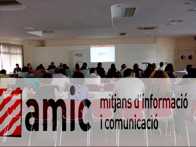 Ramon Grau, nou president de l'AMIC ( Associació de Mitjans d´informació i Comunicació )