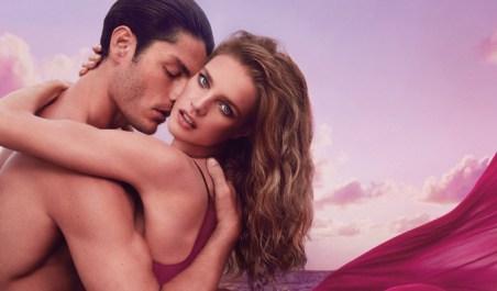 Natalia Vodianova y Tyson Ballou para Euphoria de Calvin Klein