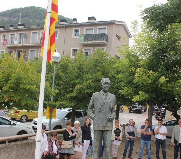 Castellbell i el Vilar celebra la Diada Nacional de Catalunya homenatjant als alcaldes afusellats durant el franquisme.