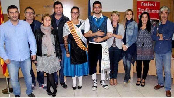 La santvicentina Marta Serran és nomenada pubilla de Catalunya