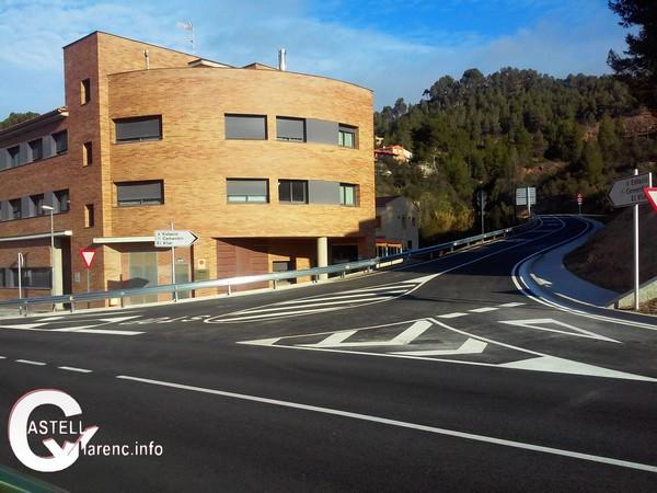 Castellbell i el Vilar inaugurarà les obres de la carretera que travessa el municipi i de la plaça de Barcelona.