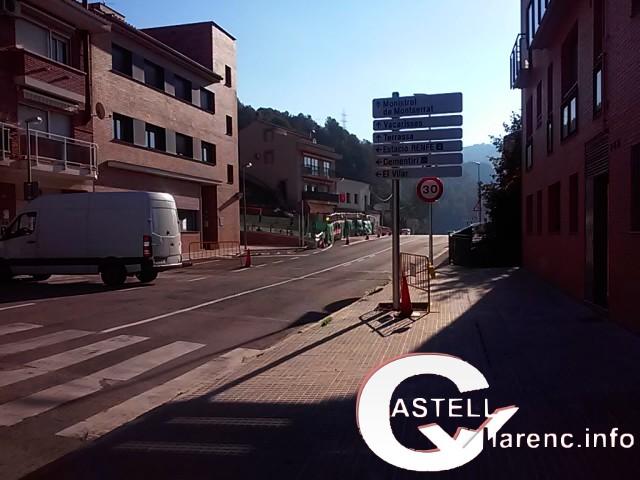 Finalitzades les obres de la intersecció de les carreteres C-1411a i BP-1121, a Castellbell i el Vilar