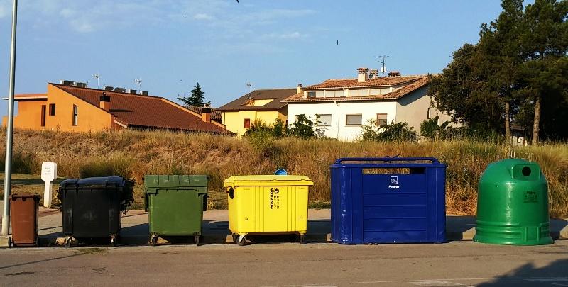 El 2015 marca una tendència a l'alça en la recollida selectiva d'envasos, paper i vidre als municipis consorciats