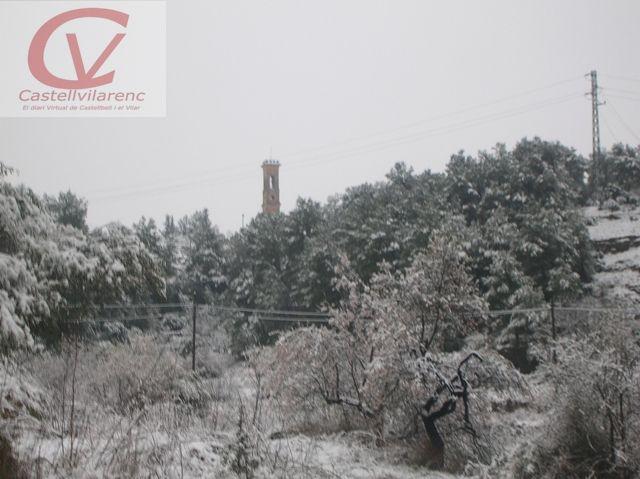 La previsió de nevades fa ajornar activitats a Castellbell i el Vilar.
