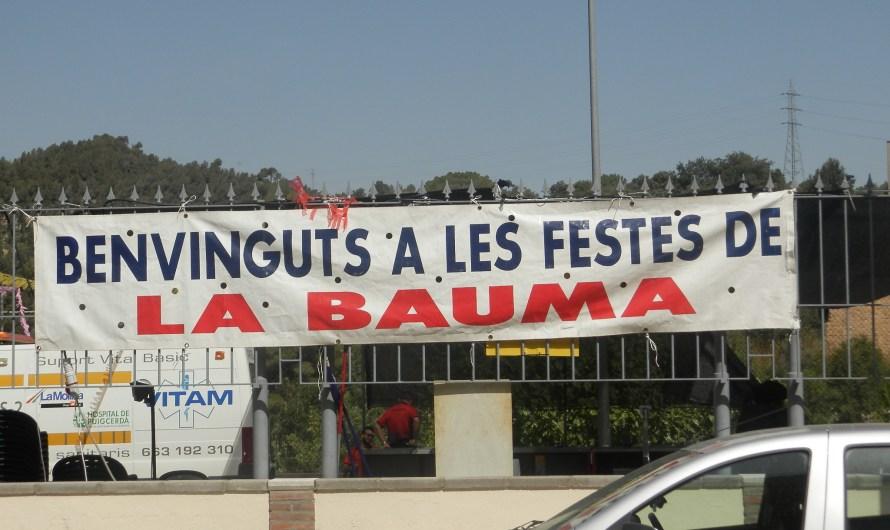 La Bauma (Castellbell i el Vilar) viu tres dies de festa del Barri.