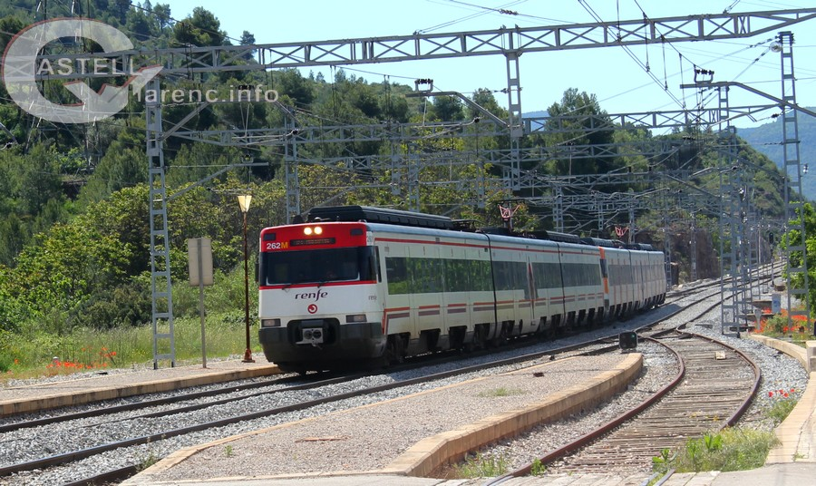 Tren rodalies Castellbell i el Vilar