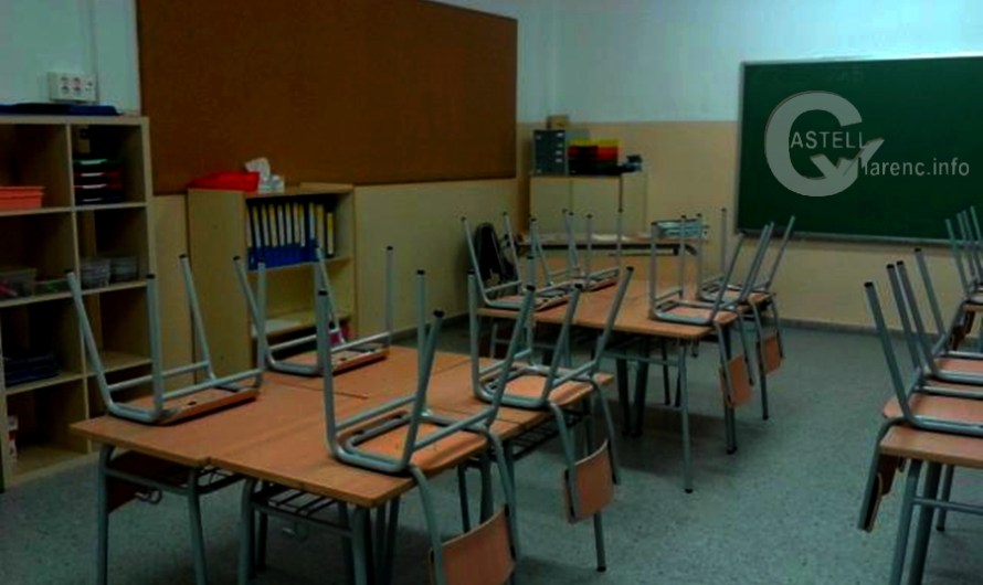 Les escoles tancaran demà