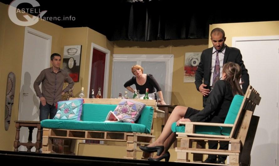 L'Agrupació Teatral i Cultural de Castellbell i el Vilar participa a la mostra de teatre a Pineda de Mar.