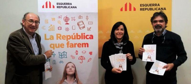 """ERC Bages presenta la campanya """"La República que farem"""""""