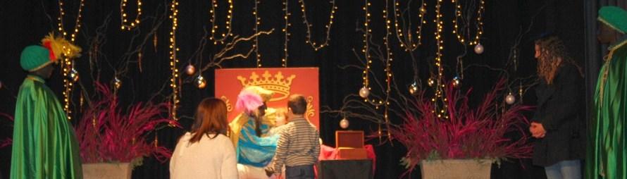 Castellbell i el Vilar rep el príncep i els emissaris dels tres reis d'orient.