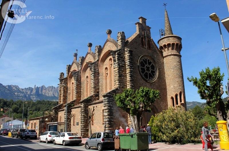 Castellbell i el Vilar finalitza la primera fase de les obres de rehabilitació de l'església de La Bauma