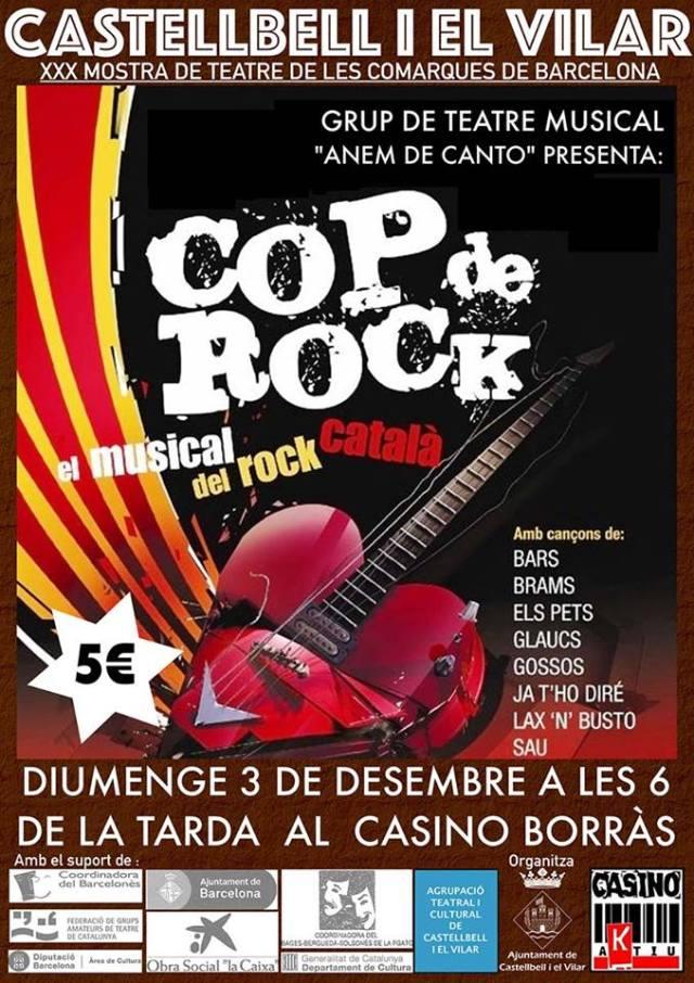 Cartell promocional cop de Rock