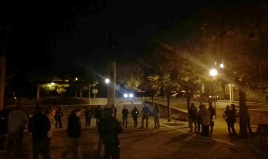 Castellbell i el Vilar demana l'alliberament dels presos polítics amb una cassolada