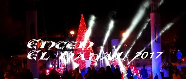 El Burés (Castellbell i el Vilar), s'omple per donar la benvinguda a les Festes de Nadal 2017.