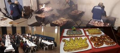 Els amics de la cavalcada de reis de Castellbell, celebra els 90 anys amb un asado argentino.