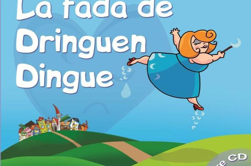La fada de Dringuen Dingue un llibre infantil musicalitzat que combina text, música i il·lustracions